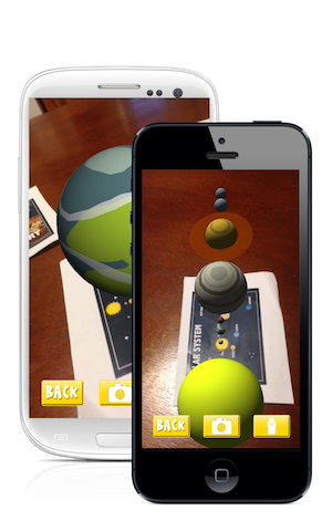 AR Flashcards – Space
