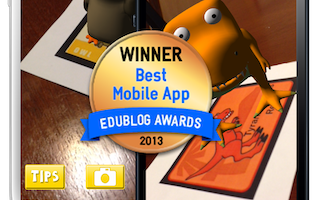 Edublog Award Winner for Best Mobile App in Education – 2013!