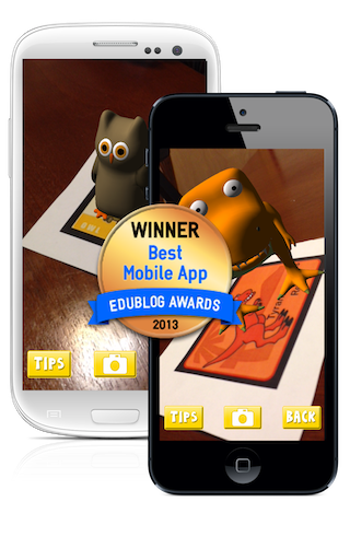 Edublog Award Winner for Best Mobile App for Education – 2013!
