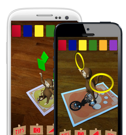 AR Flashcards Shapes & Colors