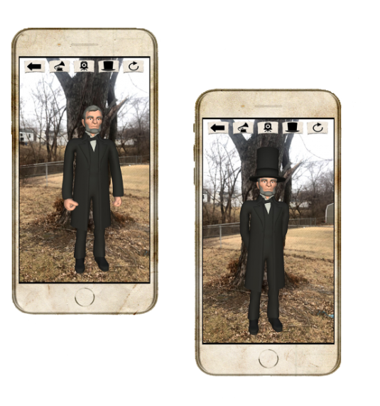 AR Flashcards Abraham Lincoln